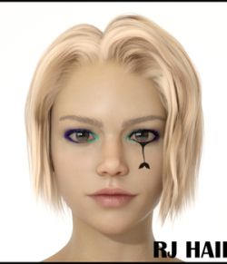 RJ Hair for Genesis 8 Female