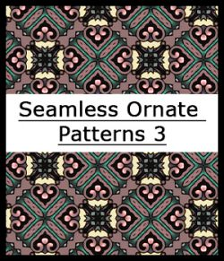 Seamless Ornate Patterns 3