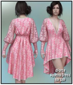 dForce - Agatha Dress for G8F