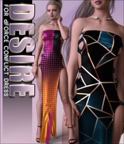 Desire for dForce Conflict Dress G8F