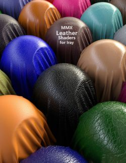 MMX Leather Shaders for Iray