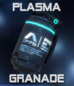Plasma-Powered Hand Grenade - Extended License