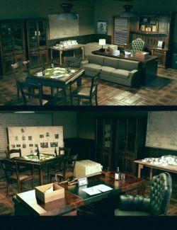 Mafia Boss Office