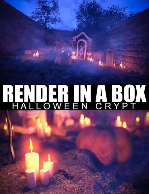 Render In A Box - Halloween Crypt