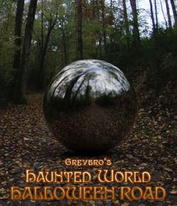 Greybro's Haunted World - Halloween Road HDRI