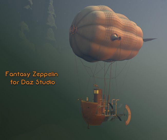 Fantasy Zeppelin for Daz Studio