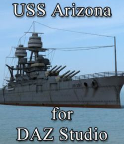 USS Arizona for DAZ Studio