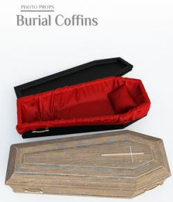 Photo Props: Burial Coffins