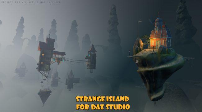 Strange Island for Daz Studio