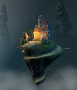 Strange Island for Daz Studio