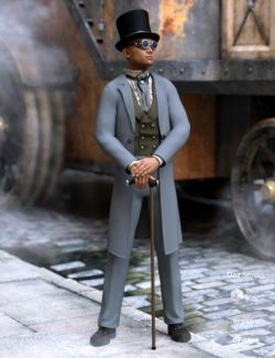 dForce Steampunk Classic for Genesis 8 Male(s)