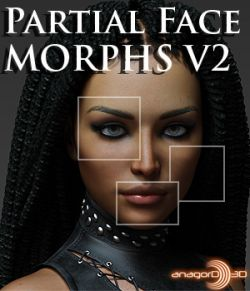 Partial Face Morphs G8F Vol 2