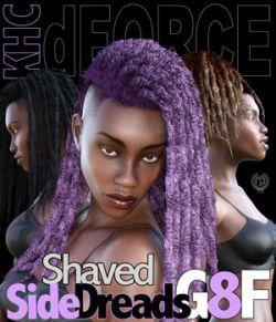 KHC Shaved Side Dreads G8F