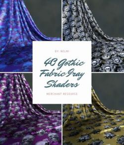 Gothic Fabric Iray Shaders