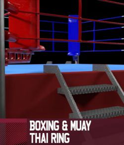 Boxing and Muay Thai Ring