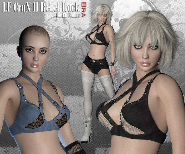 RP CruX II Rebel Rock Bra for La Femme