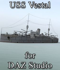 USS Vestal for DAZ Studio