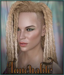 Touchable Shaved Side Dreads G8F