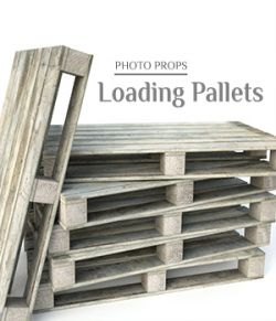 Photo Props: Loading Pallets