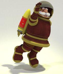 Raypunk Santa- Original Toon Santa Claus for Poser