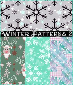 Seamless Winter Patterns 2