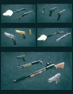 Gangster Weapons 01
