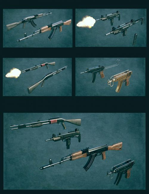 Gangster Weapons 02