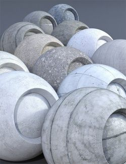 Concrete - Iray Shaders