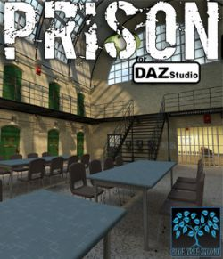 Prison for DAZ|Studio