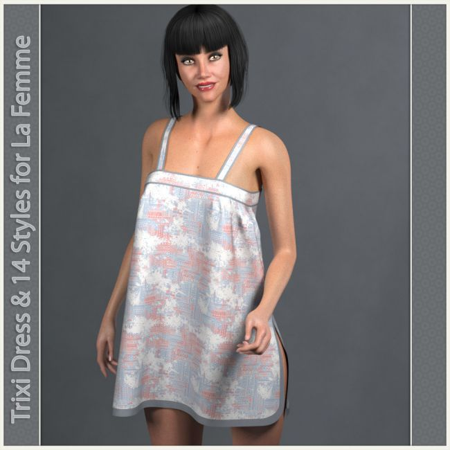 Trixi Dress and 14 Styles for La Femme