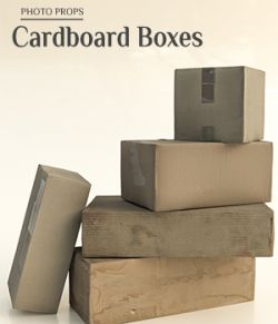 Photo Props: Cardboard Boxes