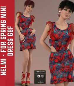 Nelmi - dForce Spring Mini Dress G8F
