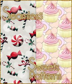 Seamless Sweets Patterns
