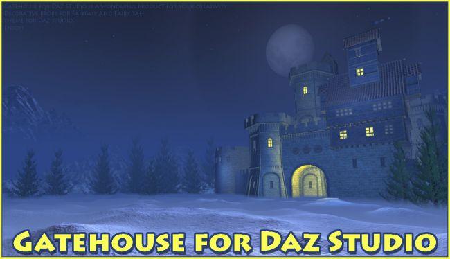Gatehouse for Daz Studio