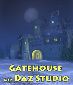 Gatehouse for Daz Studio
