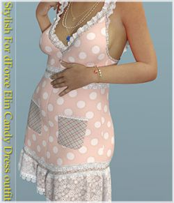 Stylish For dForce Elin Candy Dress outfit