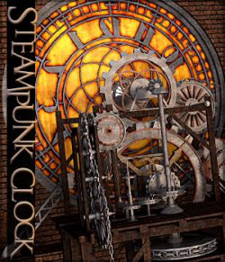Steampunk Clock Tower