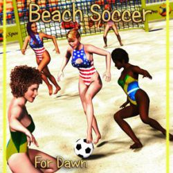 Beach Soccer for Dawn