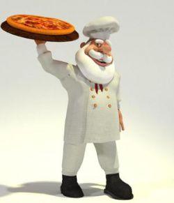 Chef Santa  for Poser