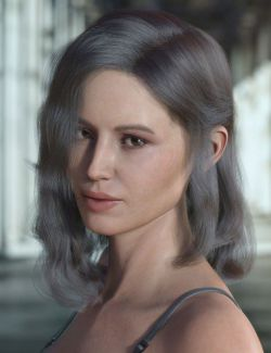 dForce Jay Hair for Genesis 3 and 8 Female(s)