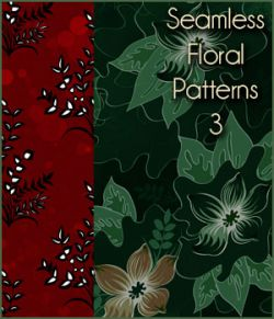 Seamless Floral Patterns 3