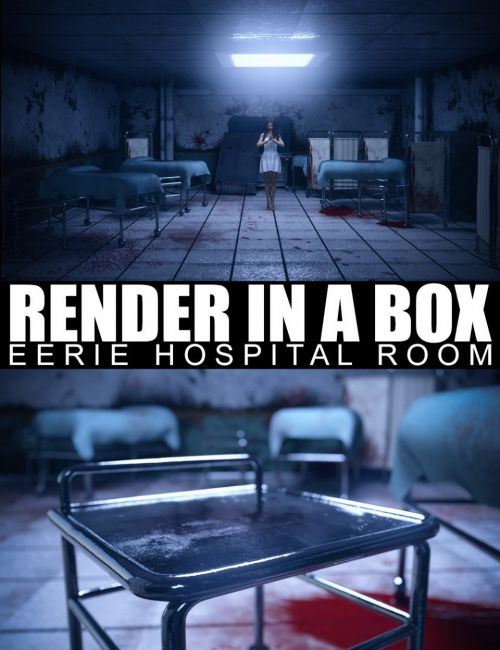 Render In A Box - Eerie Hospital Room
