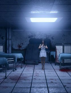 Render In A Box - Eerie Hospital Room