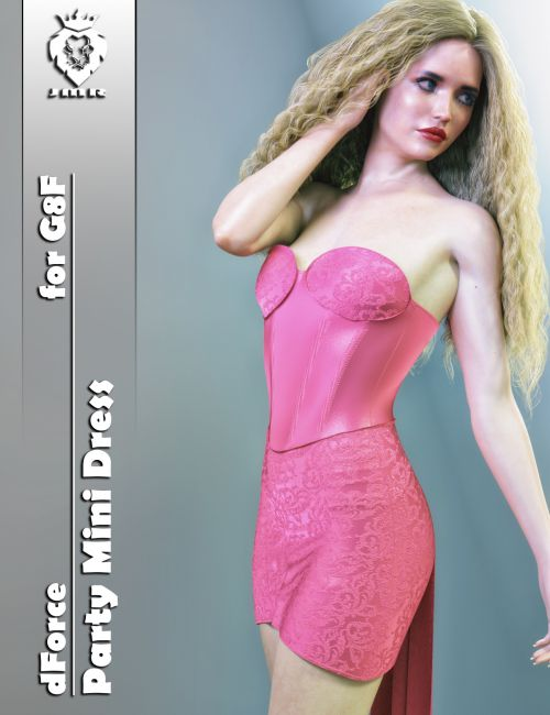 JMR dForce Party Mini Dress for G8F