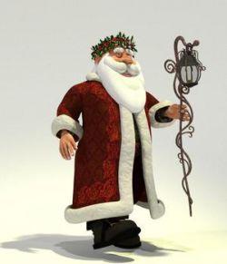 Father Christmas for Poser
