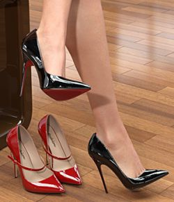 Spike Heel Pumps For G8F