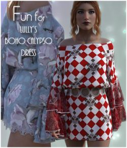 Fun for Boho Calypso Dress
