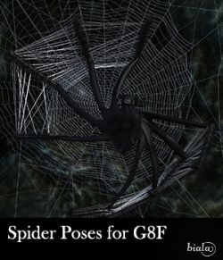 Spider Poses for G8F