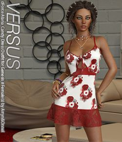 VERSUS - dForce Alana Candy Dress for Genesis 8 Females