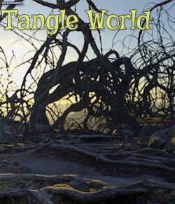 3D Scenery: Tangle World